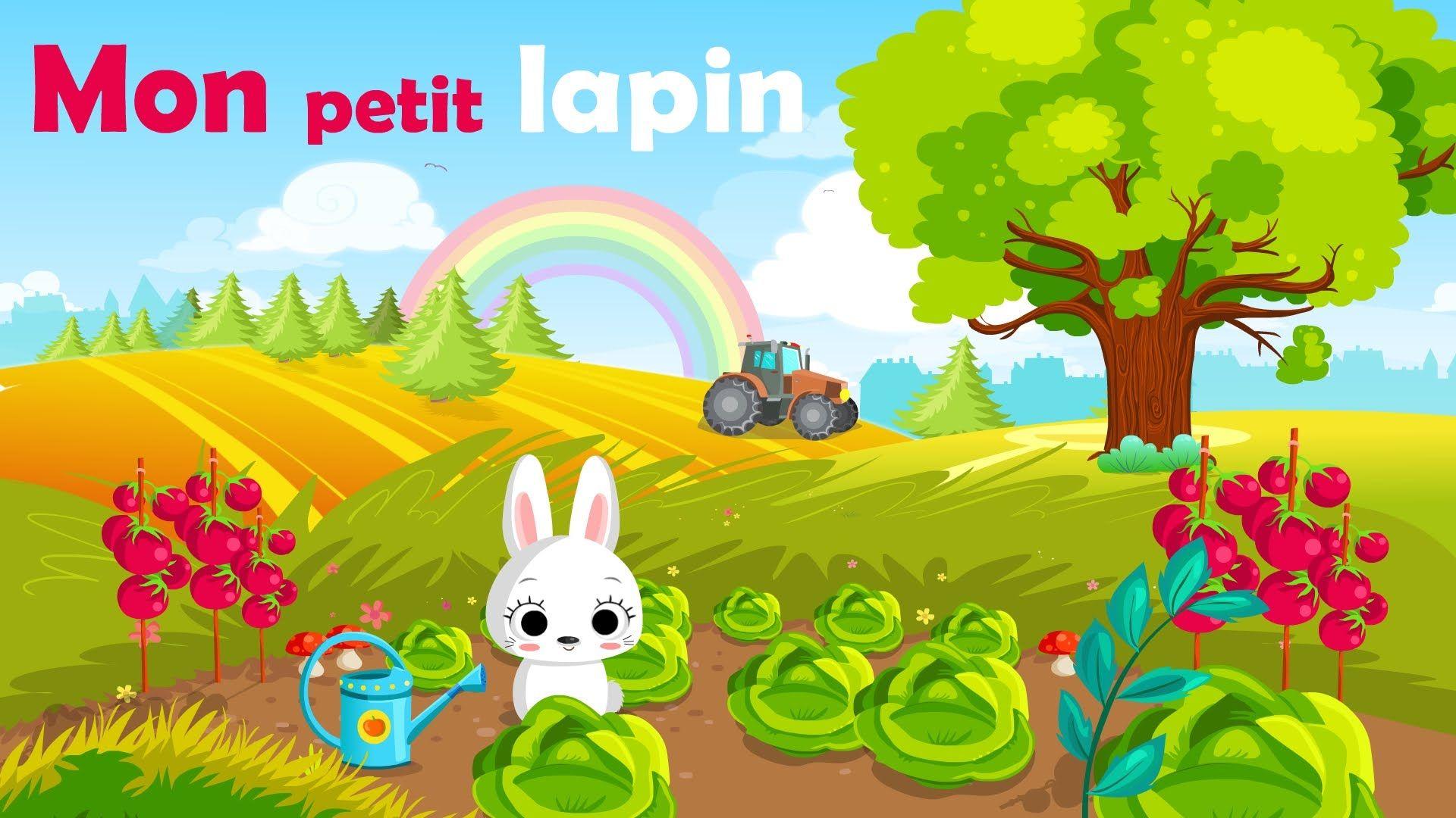 Mon Petit Lapin Comptine à Gestes Avec Paroles Mon Petit Lapin