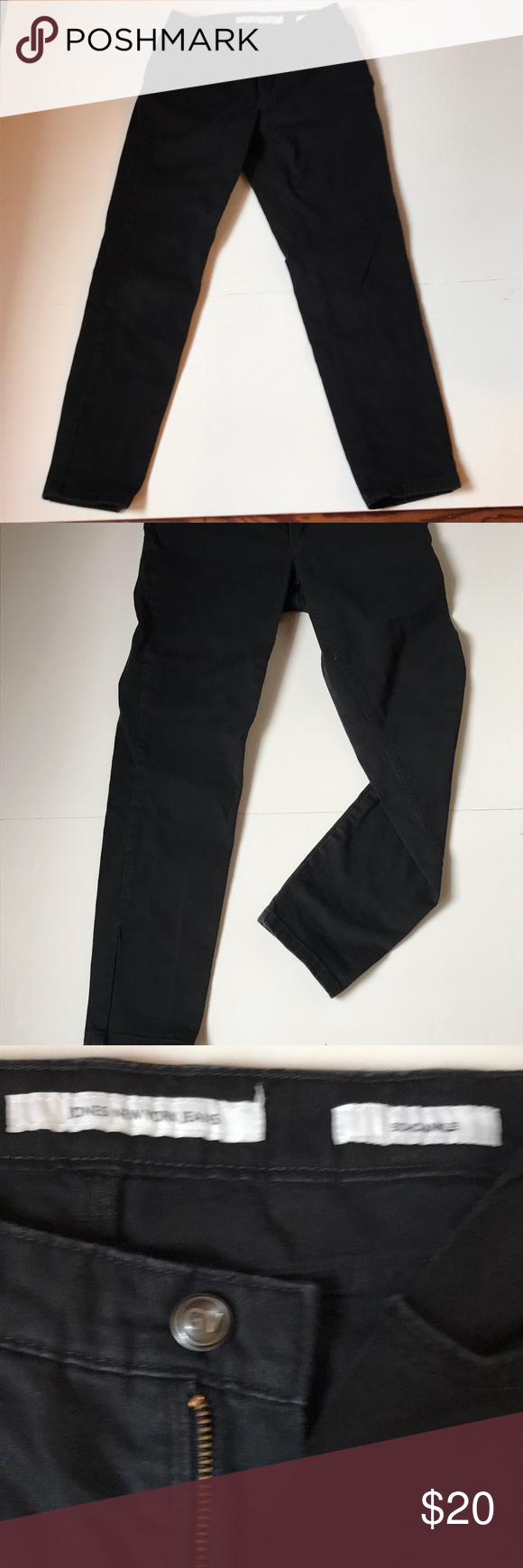 Jones New York Soho Ankle Jeans Jones New York New York Soho Womens Jeans Skinny