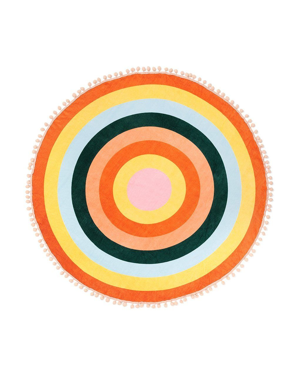 All around giant circle towel color wheel color wheels towels