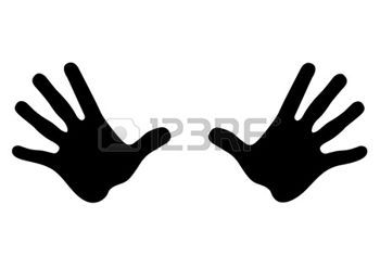 Silhouette Hands Stock Illustrations Cliparts And Royalty Free Silhouette Hands Vectors Silhouette Silhouette Free Hand Clipart