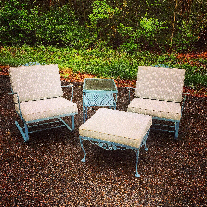 garden chairs woodard daisy chain lounge chairs spring steel