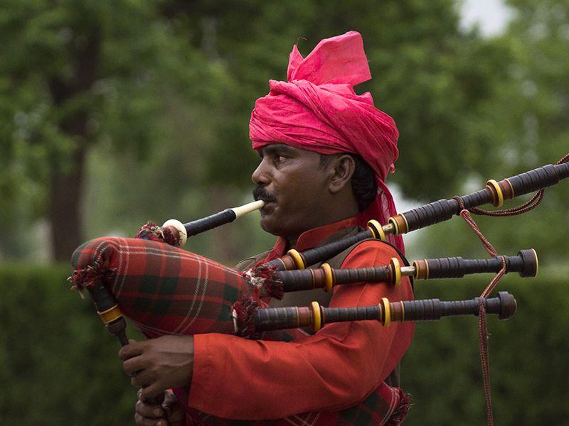 Islamabad Pakistan The Piper Plays by InayatShah