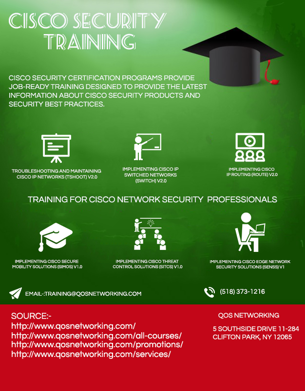 Cisco Security Training Qos Networking Inc Is Approved By Cisco