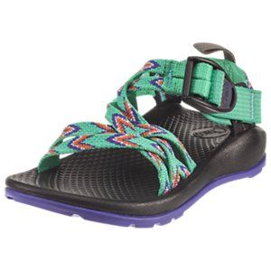 0e3bf757b588 Chaco ZX 1 Ecotread Sandals for Kids - Mint Leaf - 1 Kids
