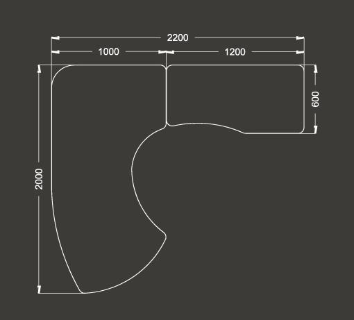 Resultado de imagen de escritorio medidas parvulario for Dimensiones de escritorios de oficina