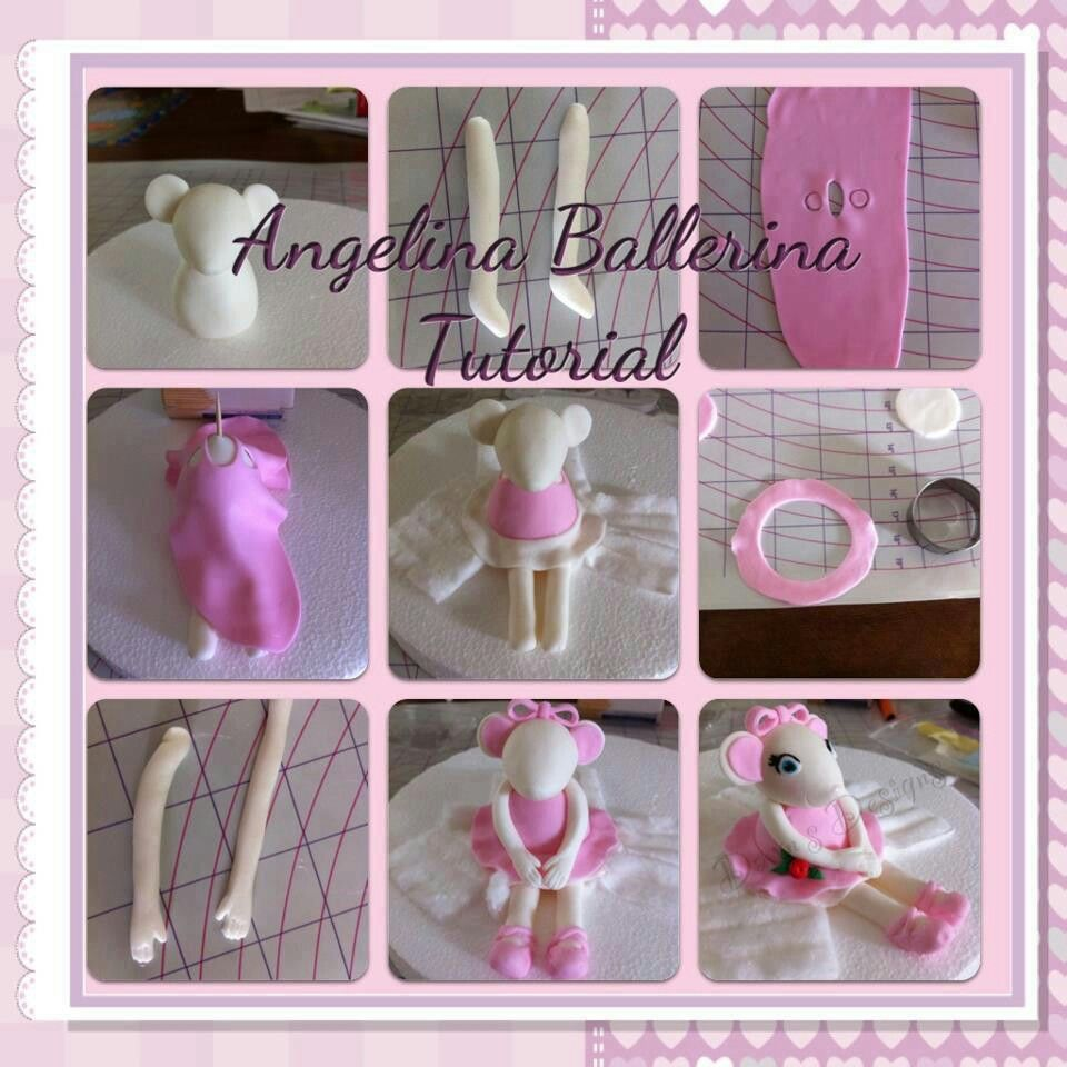 Angelina ballerina tutorial