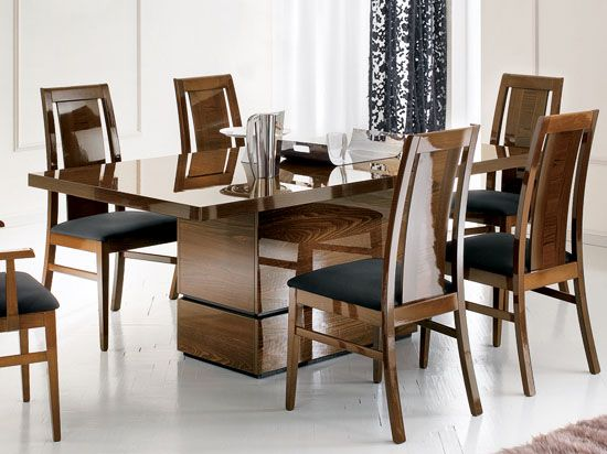 Superbe Sole Dining Table At Www.daniafurniture.com. Interesting Look With The Very  Heavy Base.