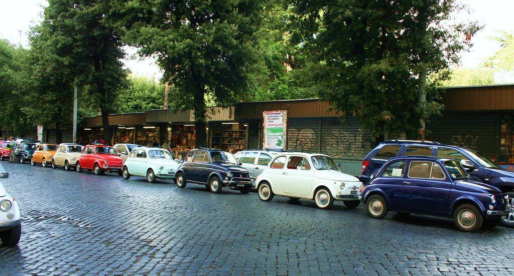 The Vintage Italian Fiat 500.