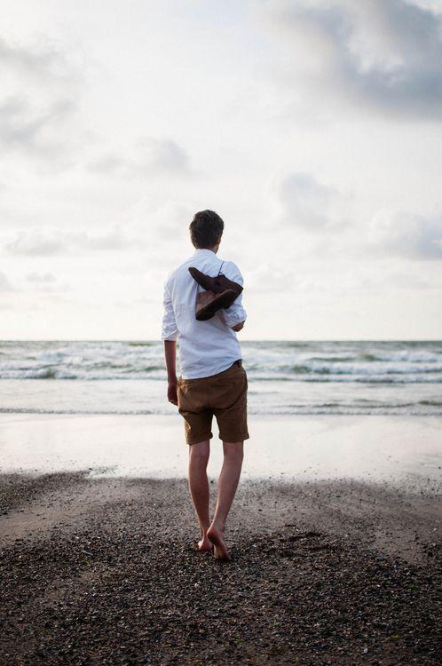 Walk barefoot on the beach...