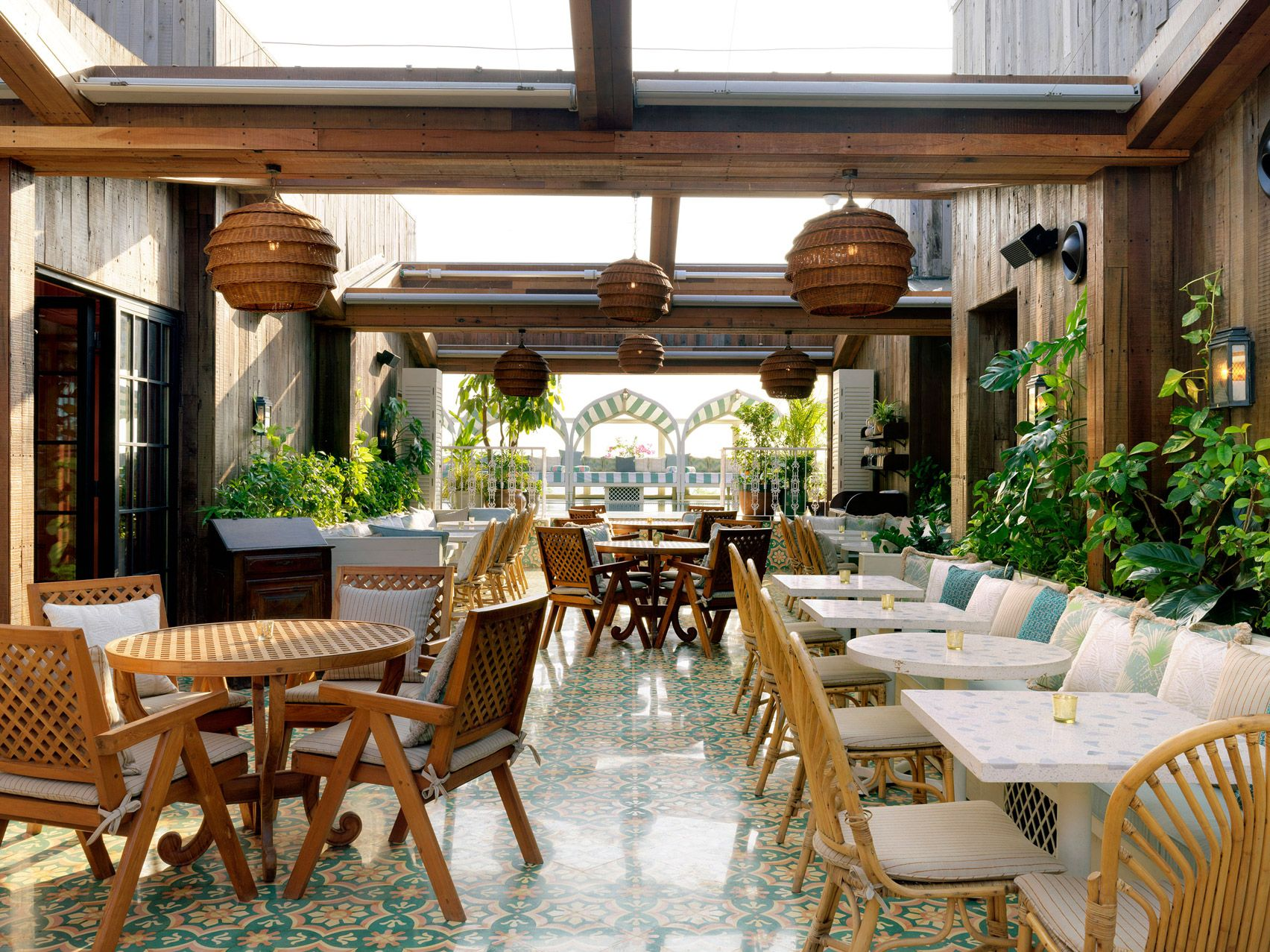 Indian Garden Restaurant Design Diy Craft