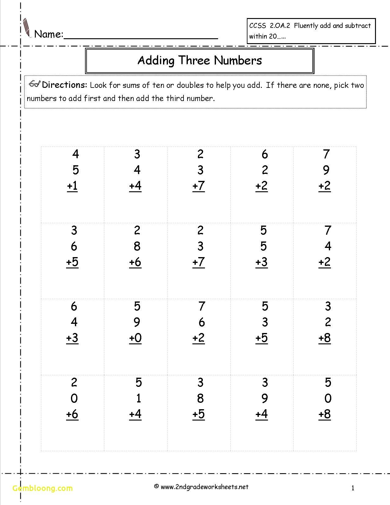 Inspirational Math Worksheets 1st Grade Addition And Subtraction Worksheet Printable In 2020 2nd Grade Math Worksheets Free Math Worksheets Basic Math Worksheets