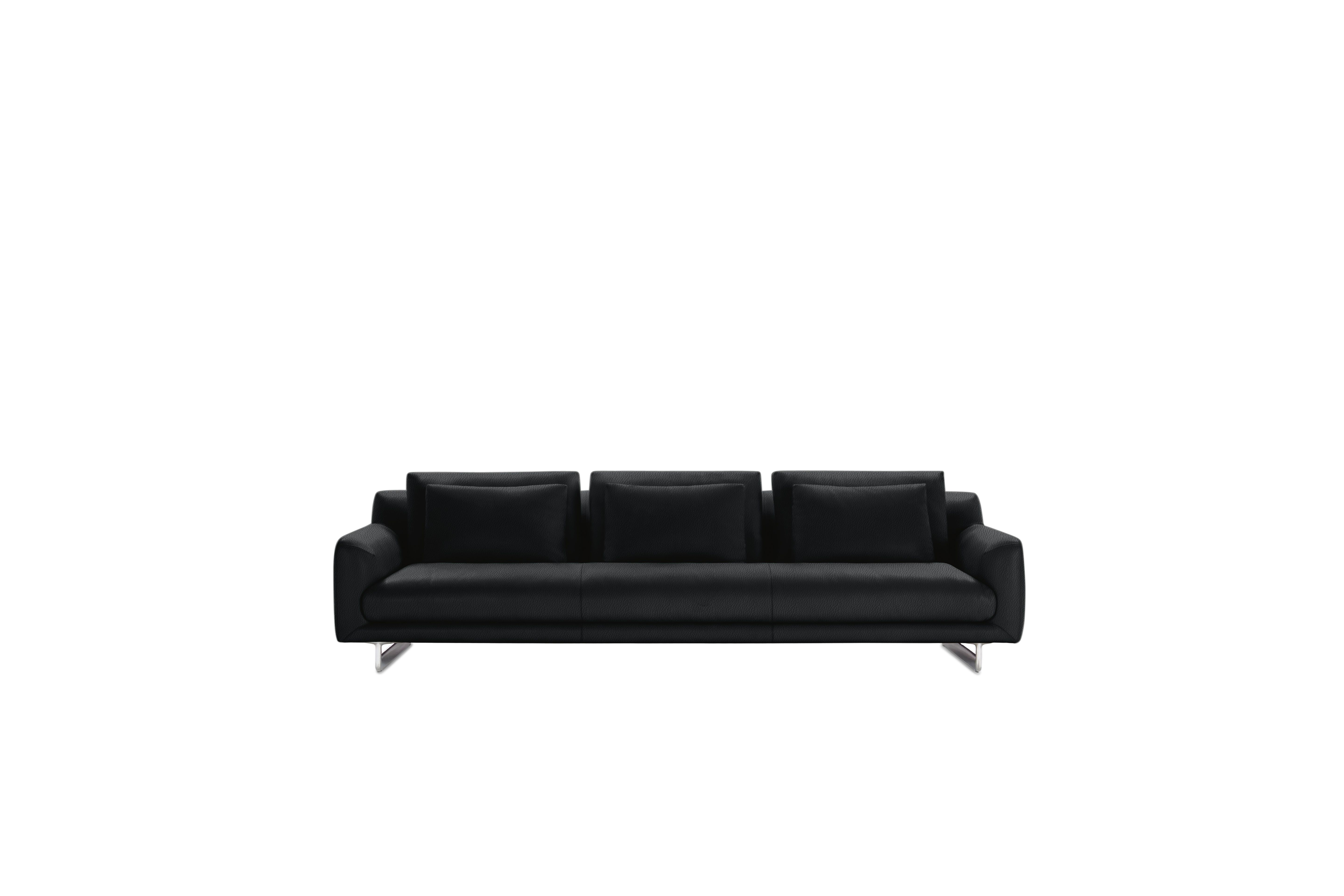 """Lecco Sofa, Black, 110"""" by Design Within Reach"""