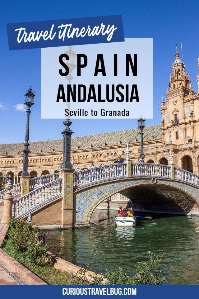 Must See Andalucia 7 Day Southern Spain Road Trip Itinerary - Curious Travel Bug #travelbugs