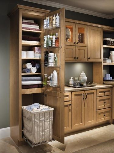 17 Best images about Linen closet on Pinterest | Vanities, Hampers and Time  management