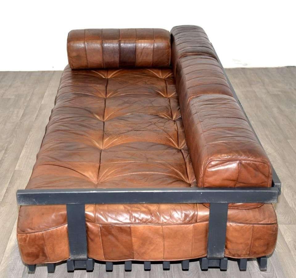 Vintage De Sede DS 80 Patchwork Leather Daybed ...