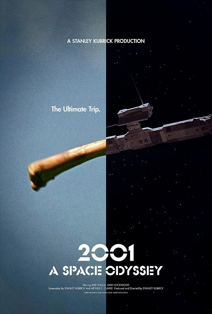 2001 A Space Odyssey 1968 675 X 1000 Alternative Movie Posters Movie Posters Minimalist Movie Posters