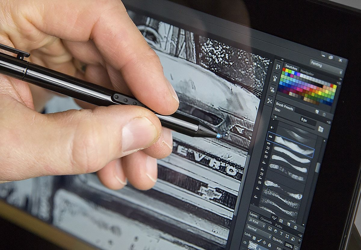 Adobe Launches Touch Optimized Photoshop Cc For Surface Pro 3 Tablet Online Web Design Photoshop Web Design Online Web Design Courses