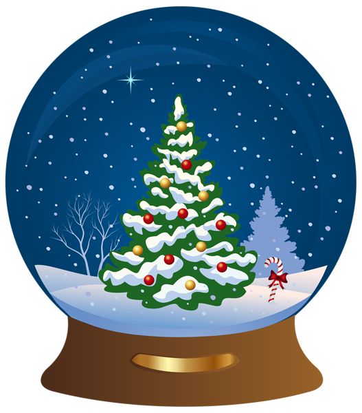 christmas tree snowglobe transparent png clip art image christmas rh pinterest com snow globe clip art free clipart snow globe