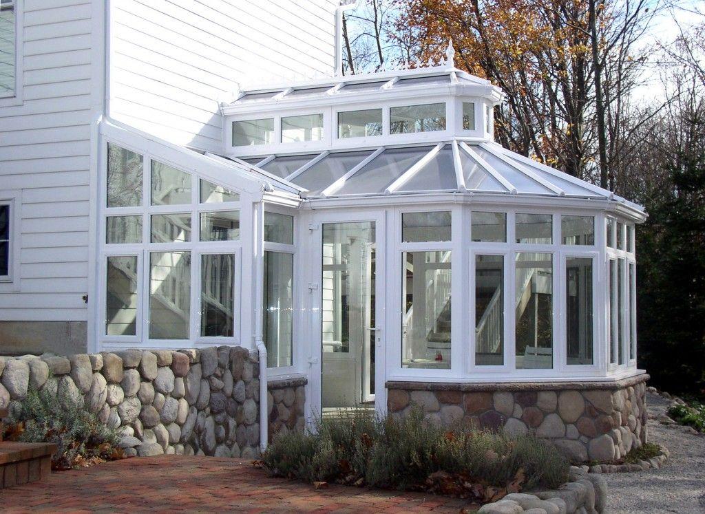 Roof Lantern Conservatory With Stone Trim Roof Lantern Sunroom Designs Sunroom Addition