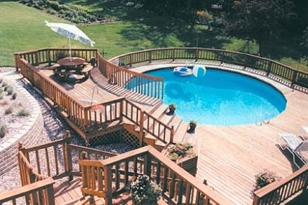 Above Ground Swimming Pools In Des Moines Iowa Soak And