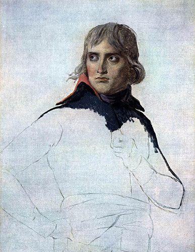 David, Jacques Louis (1748-1825) - 1797 Portrait of General Bonaparte (Musee du Louvre, Paris), for more of Jacques louis David oil paintings, please visit http://www.painting-in-oil.com/artworks-David-Jacques-louis.html