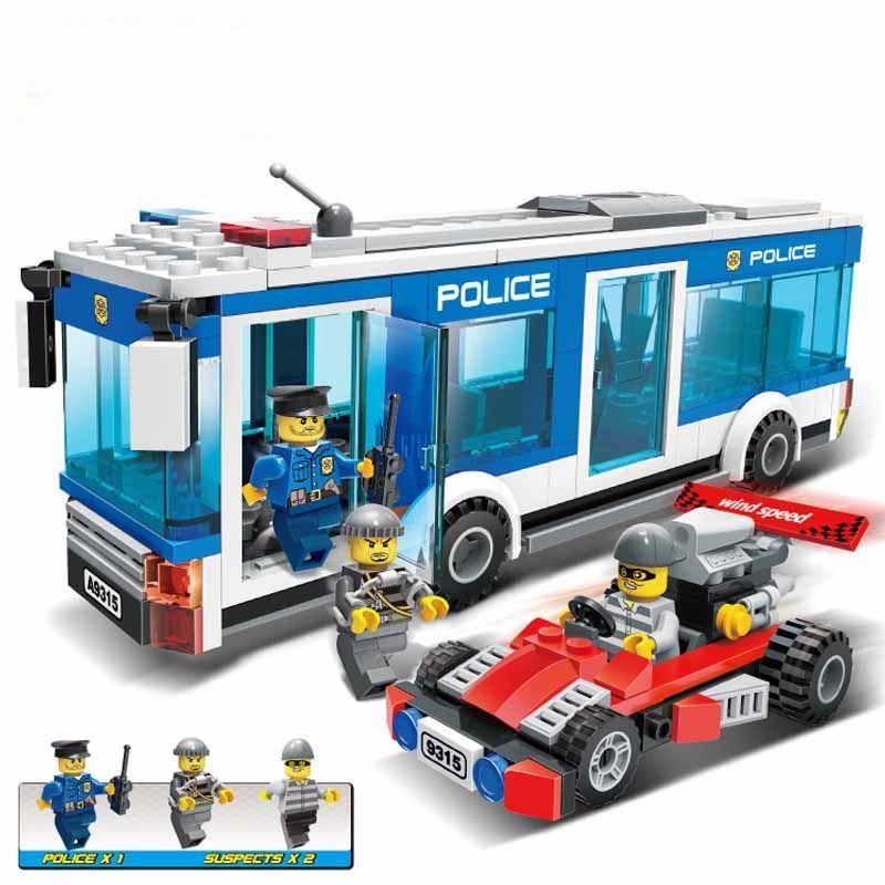 Click To Buy Gudi City Police Policeman Intercept Bandit Action Block Building Model Sets 256pcs Bric Lego City Sets Model Building Kits Lego City Police