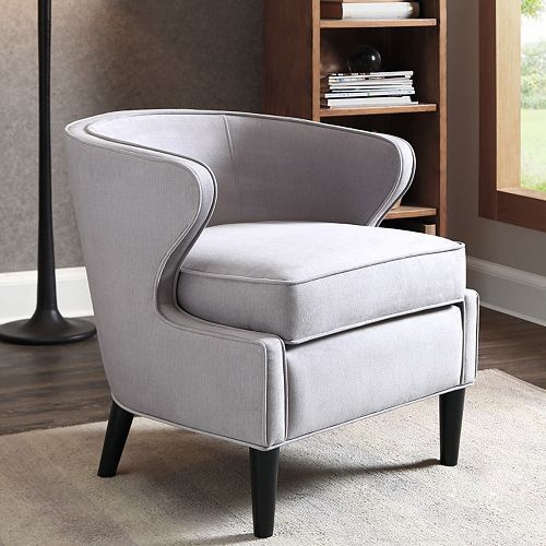 madison park skye arm chair grey living rooms and room