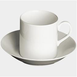 Dibbern Untertasse Konisch-Zylindrisch 0,1 L weiss flach DibbernDibbern #mugsset