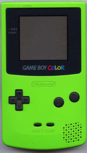 File Game Boy Color Green Jpg Wikimedia Commons Gameboy Kids Memories Nerd Games