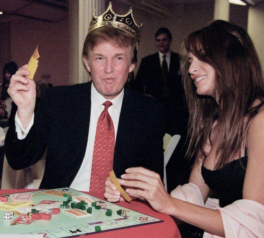 Trump und Melania kennen sich bereits seit den Neunzigerjahren.