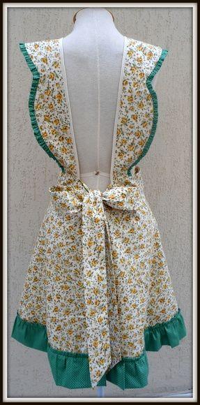 Avental Vintage Anos 50 | Schürze