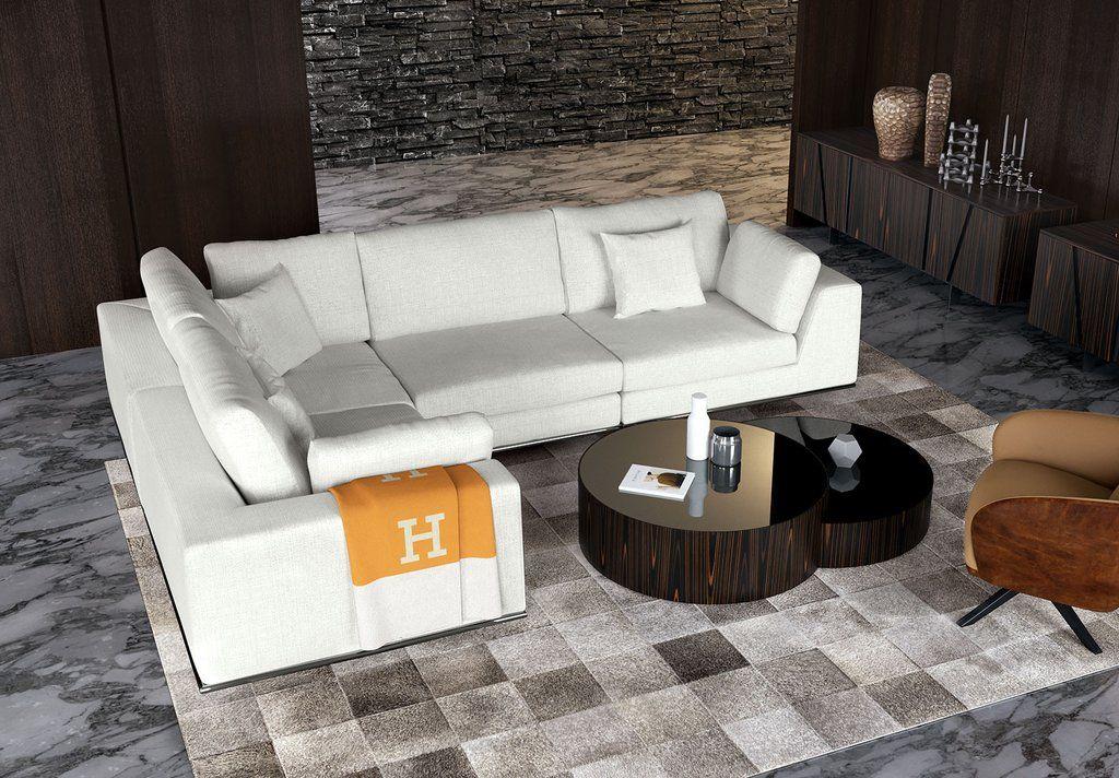 Prime Modloft Perry Preconfigured L Sectional Sofa Sofas Pabps2019 Chair Design Images Pabps2019Com