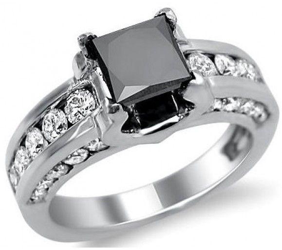 black diamond ring beautiful - Black Diamond Wedding Rings For Him