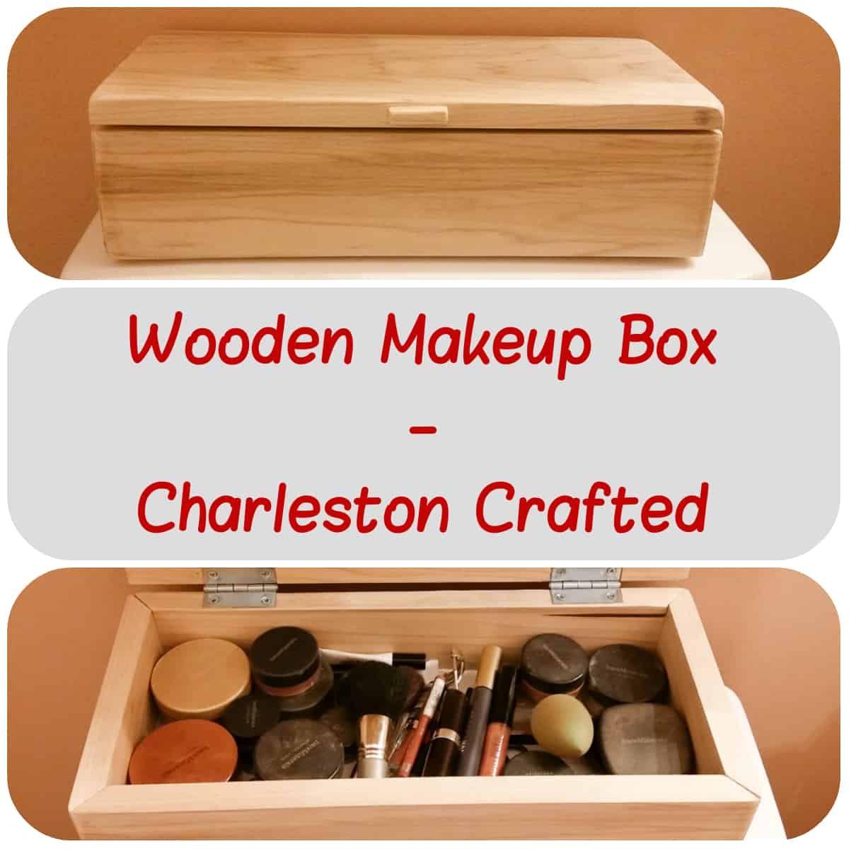wooden makeup box | woodworking | makeup box, wooden diy