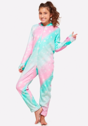 a75bcecb53a9 NWT-JUSTICE-Girls-Hooded-Unicorn-Onsie-Union-Suit-Pajama-PJ-Sz-20 ...