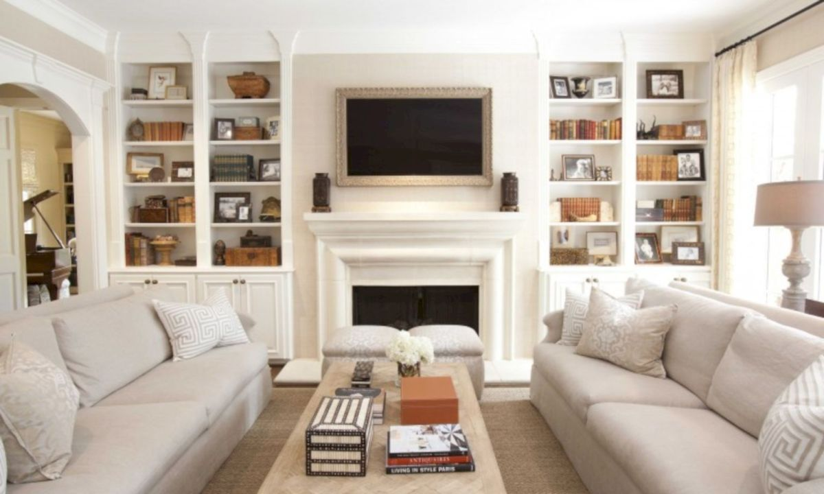 2 sofas in small living room
