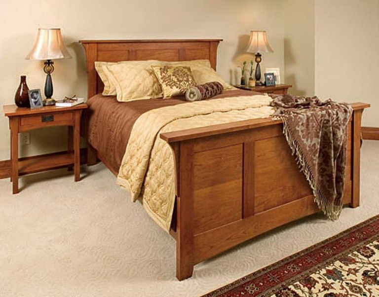 mission style bedroom set this is solid and elegant
