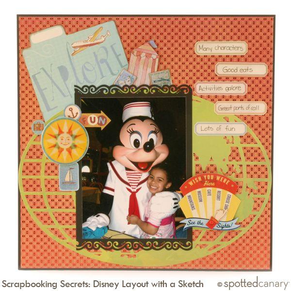 Disney Layout by Lisa F.