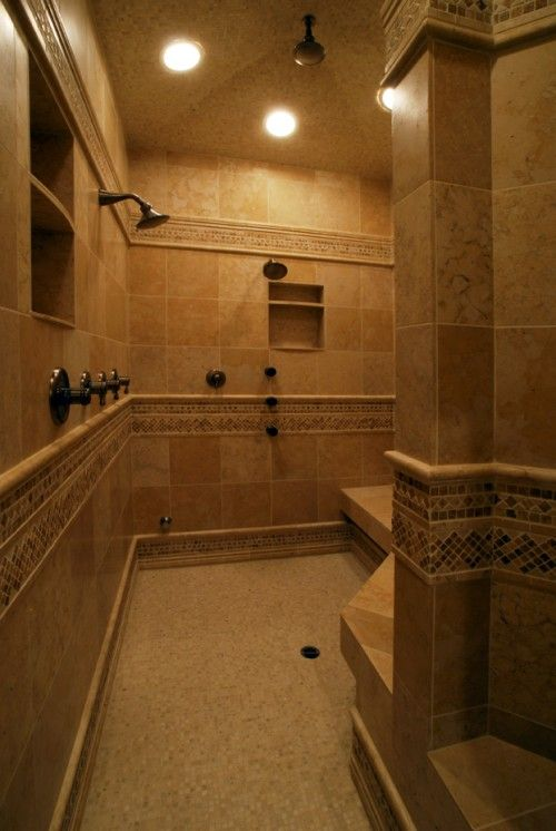Huge Shower For The Home In 2019 Bathroom Dream
