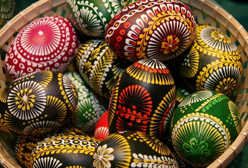 Pisanki the decorated Easter eggs in Poland Easter