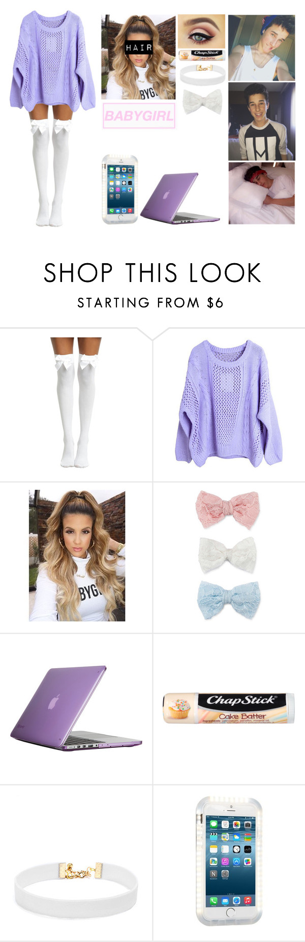 """Hunter Rowland imagine #4"" by jasmine-the-basic-penguin on Polyvore featuring Decree, Speck, Chapstick, Vanessa Mooney and Ty-Lite"