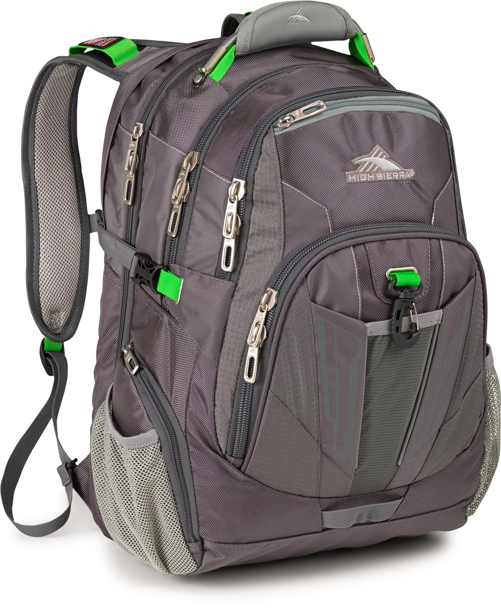 High Sierra XBT TSA Laptop Backpack 4 Colors Business /& Laptop Backpack NEW