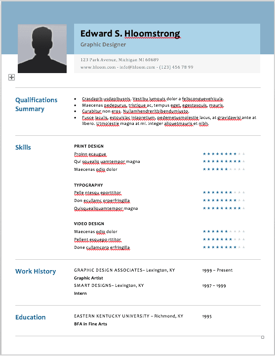 The 17 Best Resume Templates For Every Type Of Professional Best Resume Template Resume Templates Marketing Resume