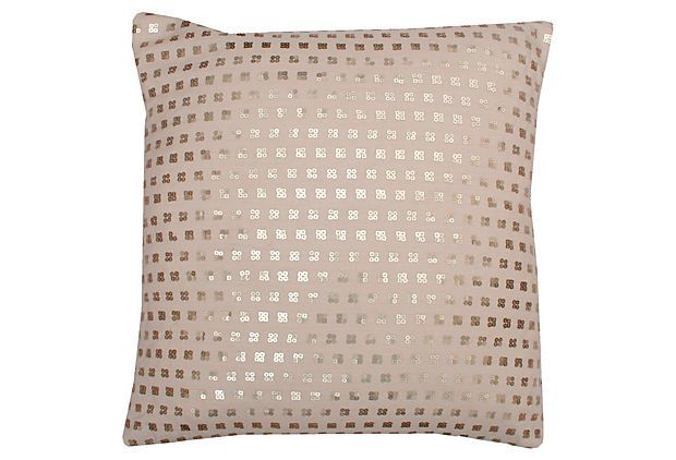 Modern Glam Pillows : Petite Sequin 20x20 Pillow, Natural Dream Home Furnishings and Accessories Pinterest ...