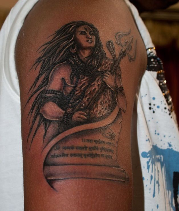 Tattoo Designs God Shiva: Coolest God Lord Shiva! Really Love Him. Not Because He