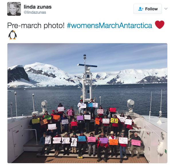 Shit Rich College Kids Say — Women's March Antarctica (x)