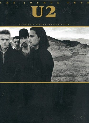 U2: The Joshua Tree - Authentic Recording Transcription for Guitar and Bass Tab. £18.95