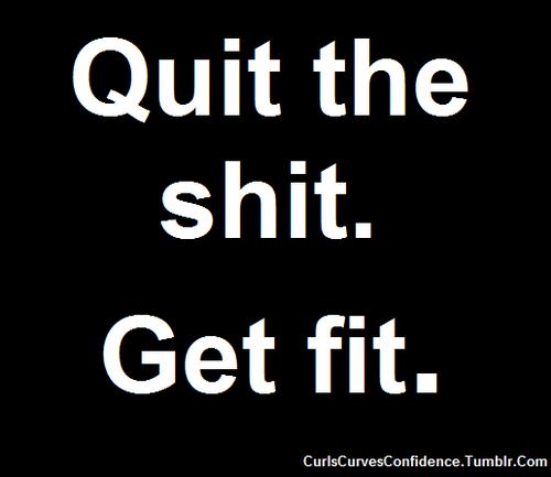 Live love the fit life (curlscurvesconfidence: companythatmakesmisery: ...) | via Tumblr