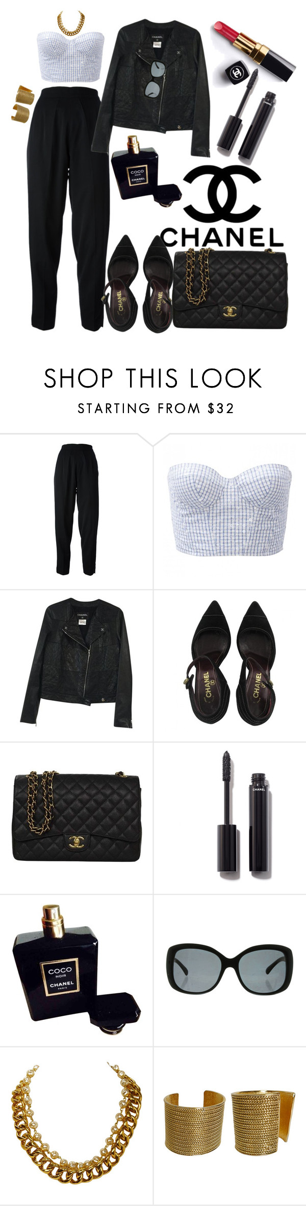 """Chanel"" by saraprifti ❤ liked on Polyvore featuring Chanel"