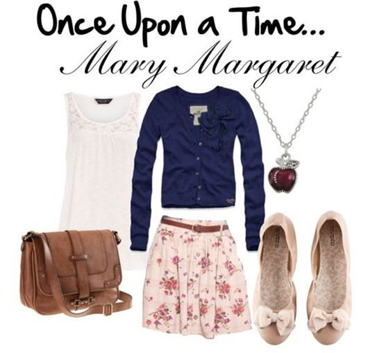 Once Upon a Time Mary Margaret inspired outfit